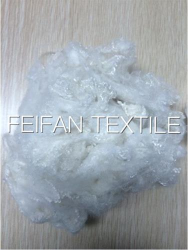 milk white polyester staple fiber