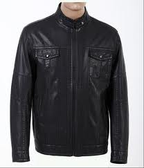 Leather Jackets:Men, Finished