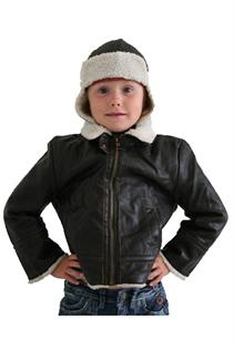 Leather Jackets:Kids, Synthetic Leather