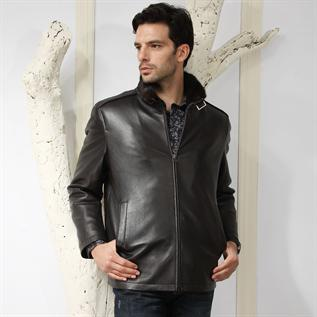 Leather Jackets:Men, Leather
