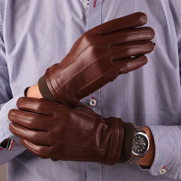 mens goat leather gloves