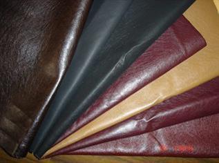 Sheep finished leather