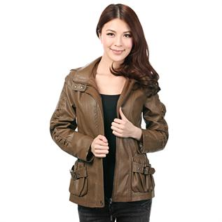 Leather Jackets:Women, All seasons wear