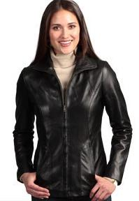 Leather Jackets:Women, Size: S-XL