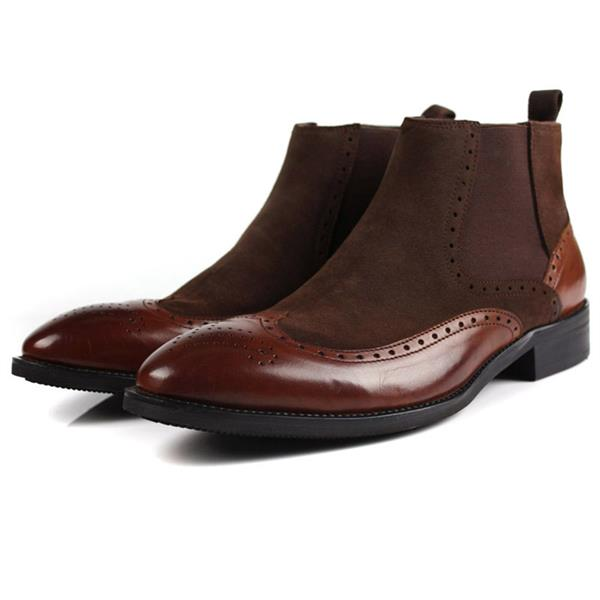 mens cow leather shoes