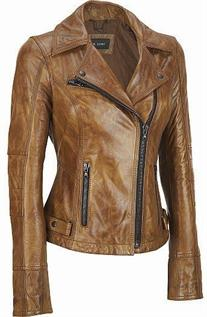 Leather Jackets:Mens and Womens, Size: S-XL