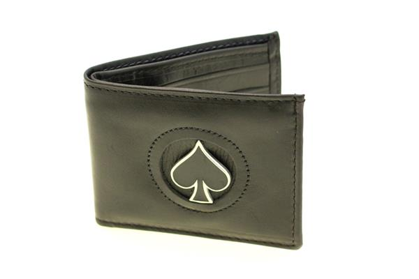 mens top grain leather wallet