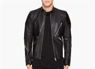 Leather Jackets:Men, Material - Leather, PU