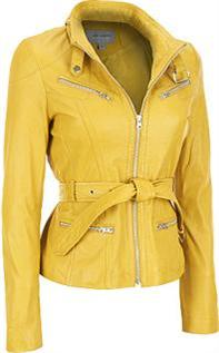 Leather Jackets:Ladies, Size : XS,S,M,L,XL, Material : PU Leather, Artificial Leather
