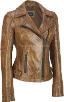 Leather Jackets:Ladies, Size: 32-48