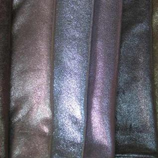 Finished cow leather
