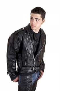 Leather Jackets:For men & women, Material : Cow & Nappa Finished Leather