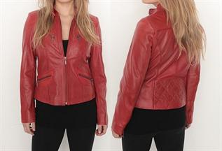 Leather Jackets:Women, Material - Cow Leather