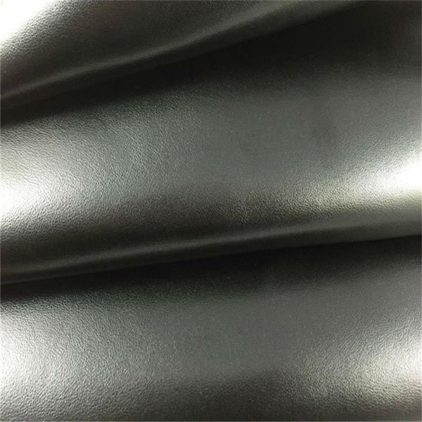 PU coated cow split leather