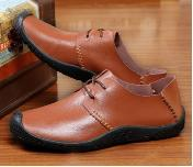 Male, Upper Material: Real Leather, Cowhide, Outsole Material: Rubber, 38-44, Spring, Summer, Autumn