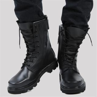 For Men (Jungle Boots) , Buffalo Leather, Water repellant upper, Lightweight shock absorbent super grip sole , UK Sizes 8 - 12, Winter, Rainy , Spring, Autumn Winter