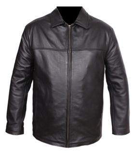 Leather Jackets:Men, Plus Size, Breathable, Eco-Friendly