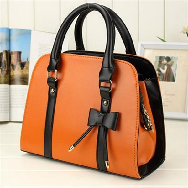 ladies pu leather hand bag
