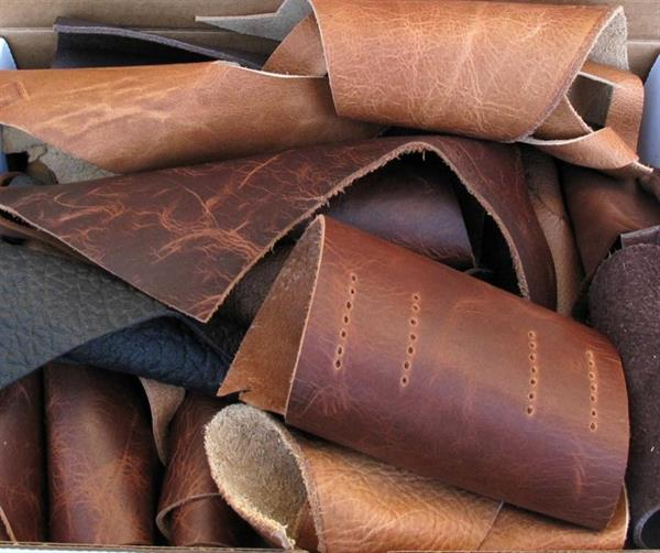 semi processed cow leather