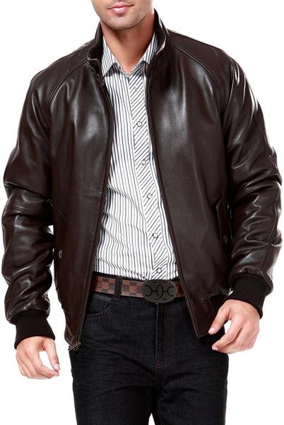 mens cow hide leather jackets