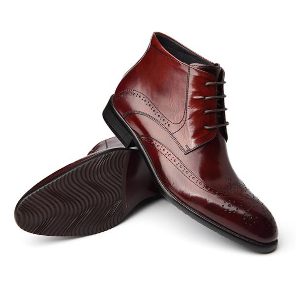 mens sheep leather shoes