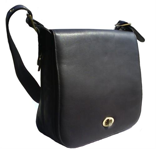 black leather bags