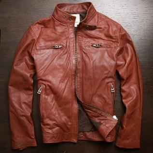Leather Jackets:Men, Women, Leather Type: Goat / Sheep leather