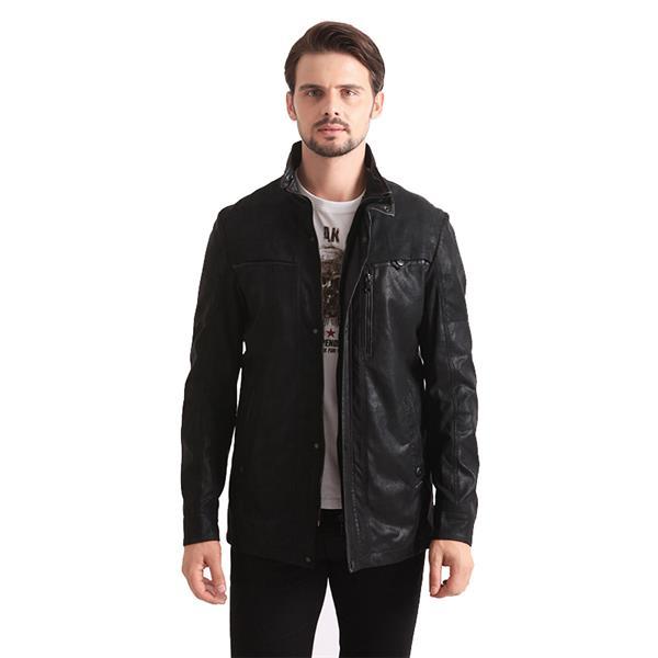 men original natural nubuck leather jacket