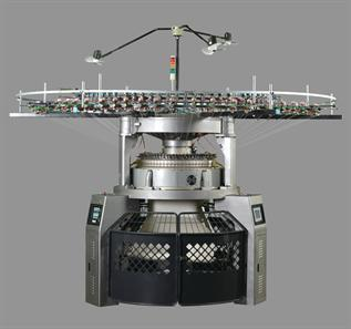 computerized jacquard circular knitting machine
