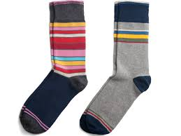 Socks:100% Cotton Fabric, Cotton/Lycra Fabric, Blue, Black, Multiple colors