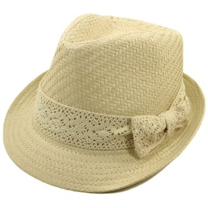Hat:Straw, Natural