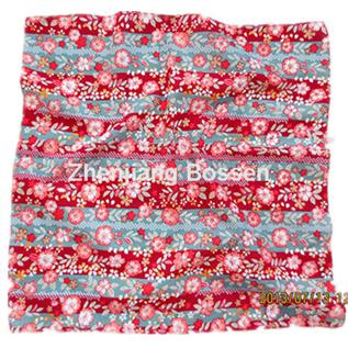 Floral Pattern Design Pure Cotton Women's Handkerchief