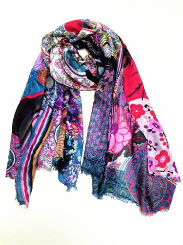 ladies digital printed scarves