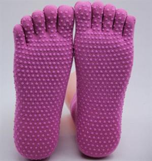 cotton five toes yoga socks