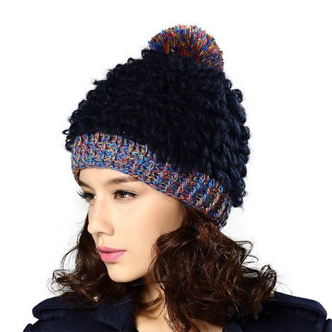 Ladies Acrylic Beanie Hat