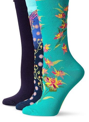 ladies polyester spandex socks
