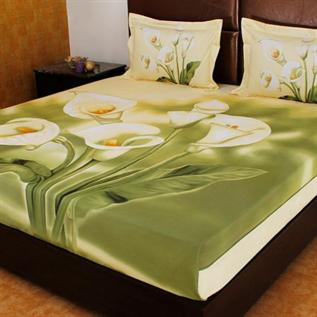 Bed Sheets:Cotton , Polyester, Woven, Quick-Dry