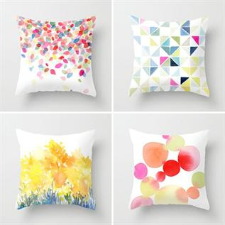 Cushions:100% Cotton, Polyester, Woven, -