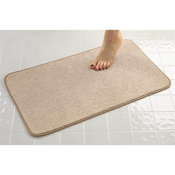 Cotton Bath Mat, Tufted, Bath Rug