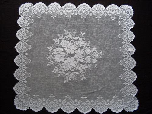 knitted table linen