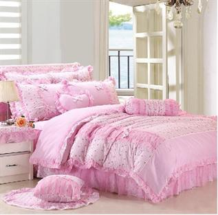 Bed linen:100% Polyester Microfibre, Woven, Shrink-Resistant, Color Fastness, Embroidered