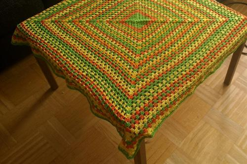 Knitted Table Linens