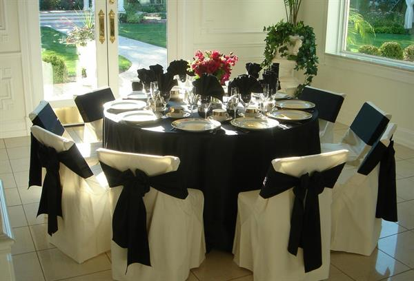 Satin Table Linen