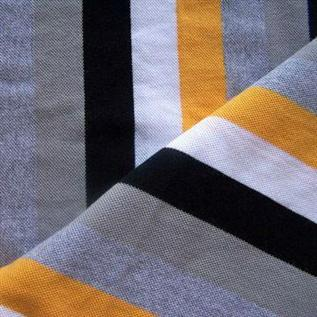 Cotton Fabric:339 Grams per sq meter, 100% Cotton, Yarn dyed, Plain