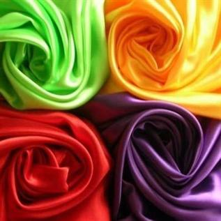 Taffeta Fabric:60/ Sq. Mts, 100% Polyester, Dyed & Greige, Plain