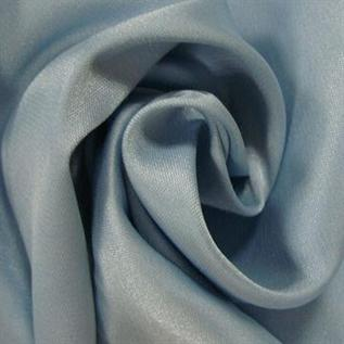 Satin Fabric:90-100/ Sq. Mts, 100% Polyester, Dyed & Greige, Satin