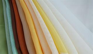 50-150 GSM, Polyester Spun Fabric, Dyed, Plain