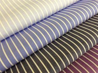 Shirting Fabric:130 - 250 GSM, 100% Cotton, Yarn dyed, Plain
