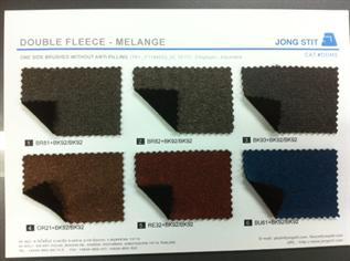 210, 100% Polyester, Melange, Weft Knit