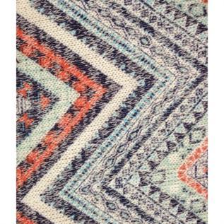 Blended Knitted Fabric:128 gsm, 60% Polyester / 35% Cotton / 5% Spandex, Melange, Warp Knit